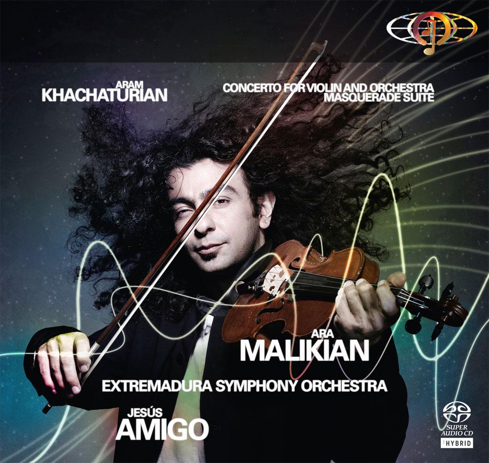 Aram Khachaturian. Concierto para violín y orquesta / Masquerade Suite