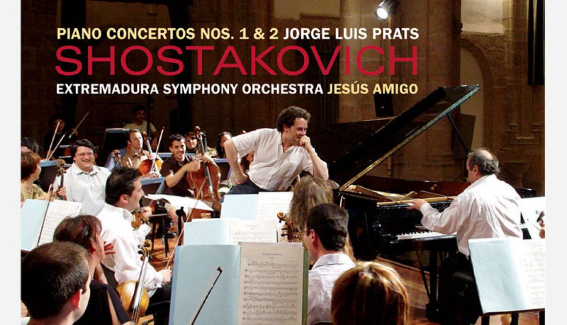 Dmitri Shostakovich. Conciertos para piano nº1 y nº2