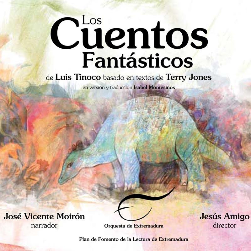 Portada de Los Cuentos Fantásticos de Terry Jones y Luís Tinoco
