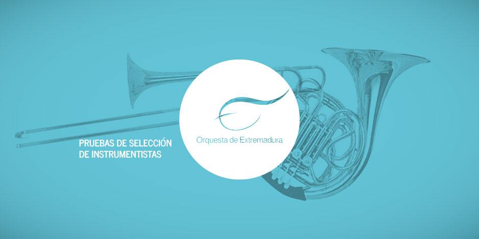 Convocatoria de pruebas para selección de trompa y trombón