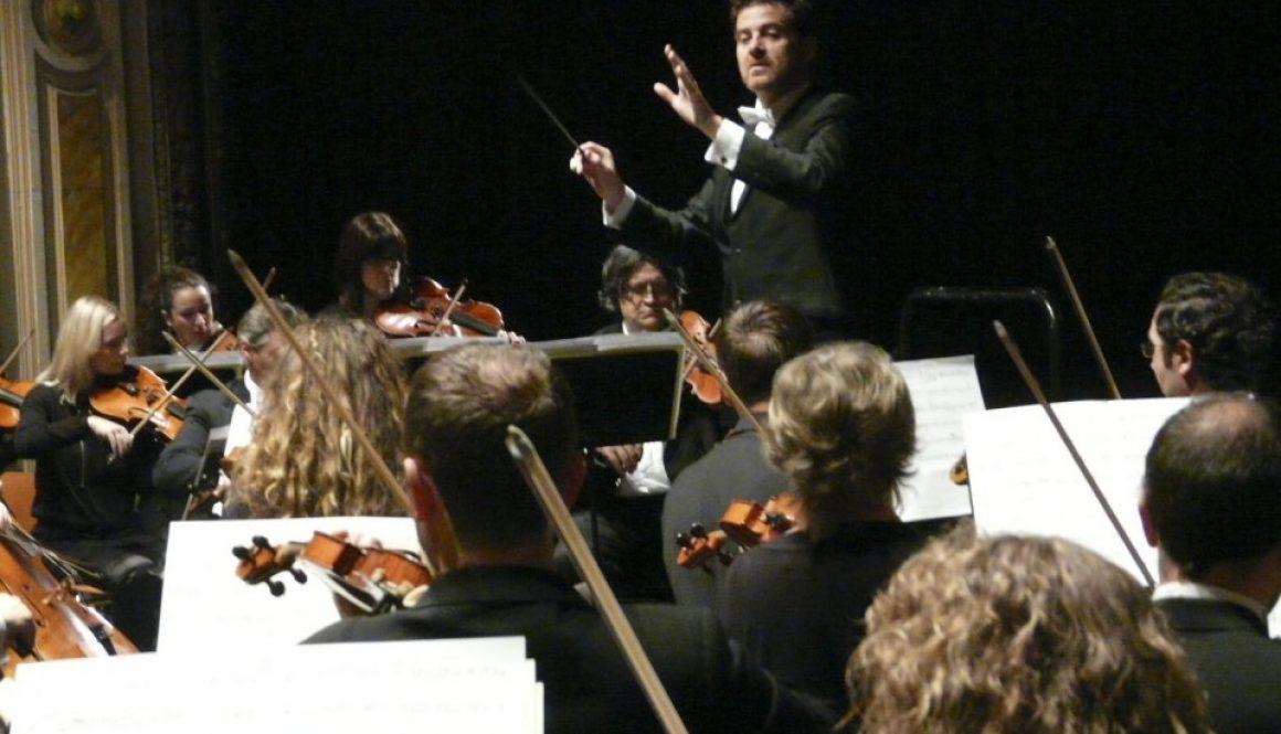 Albiach dirige a la OEX en el programa 2 en el Gran Teatro de Cáceres. 21/12/2012
