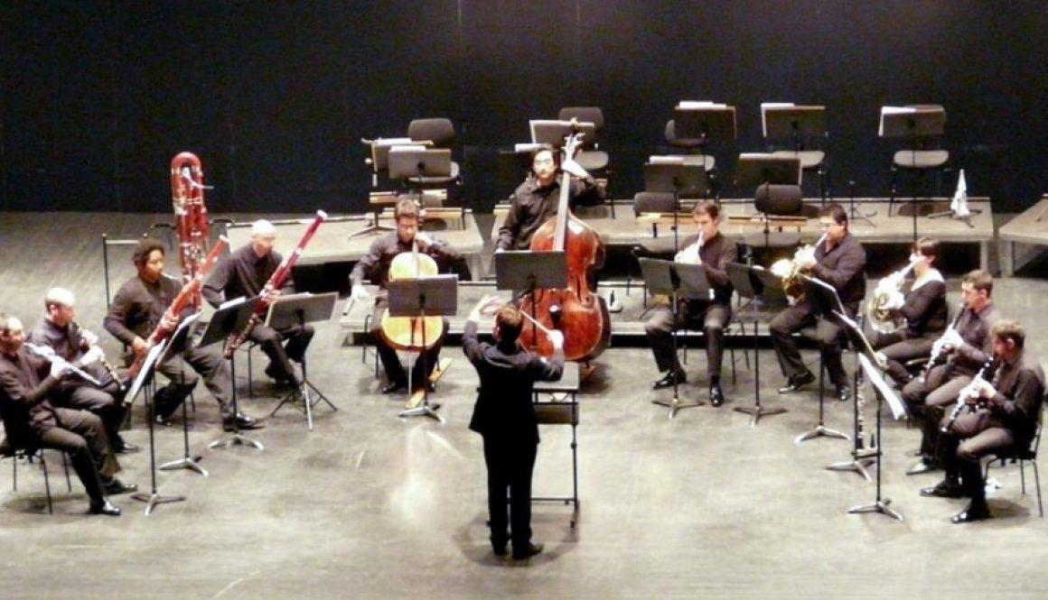 Albiach dirige a la OEX en un concierto de cámara en febrero de 2013