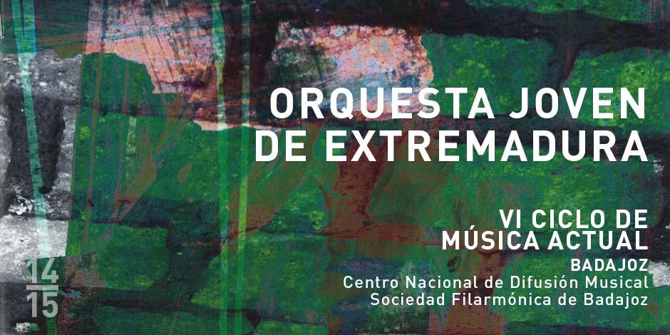 La Orquesta Joven de Extremadura dará un concierto incluido en el VI Ciclo de Música Actual de Badajoz