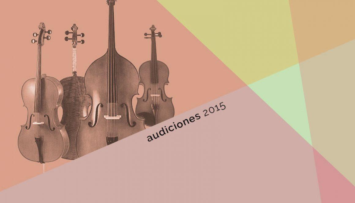 Audiciones 2015