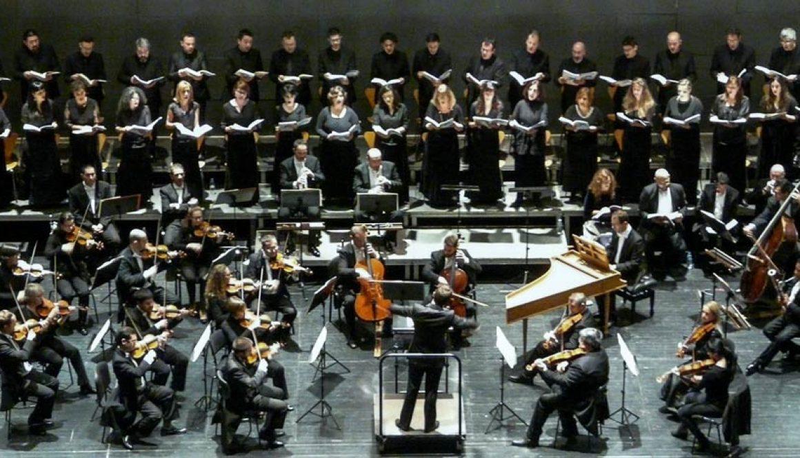 OEX y Coro de Cámara de Extremadura en el Mesías. Mérida, diciembre 2014.