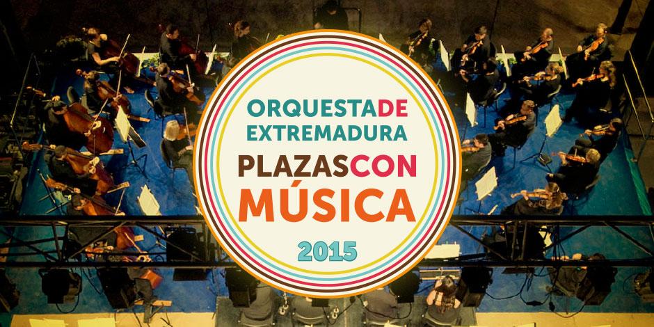 Plazas con Música 2015