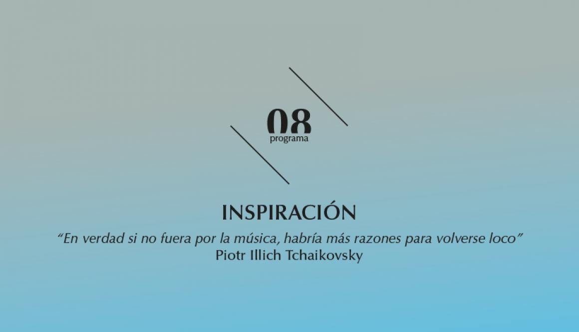 2015-2016 programa 8 Inspiración