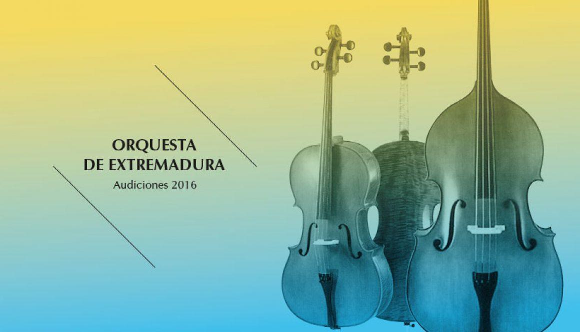 Audiciones 2016 de violonchelo y viola