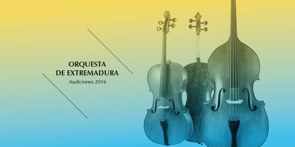 Audiciones 2016 para selección de violonchelo y viola tutti