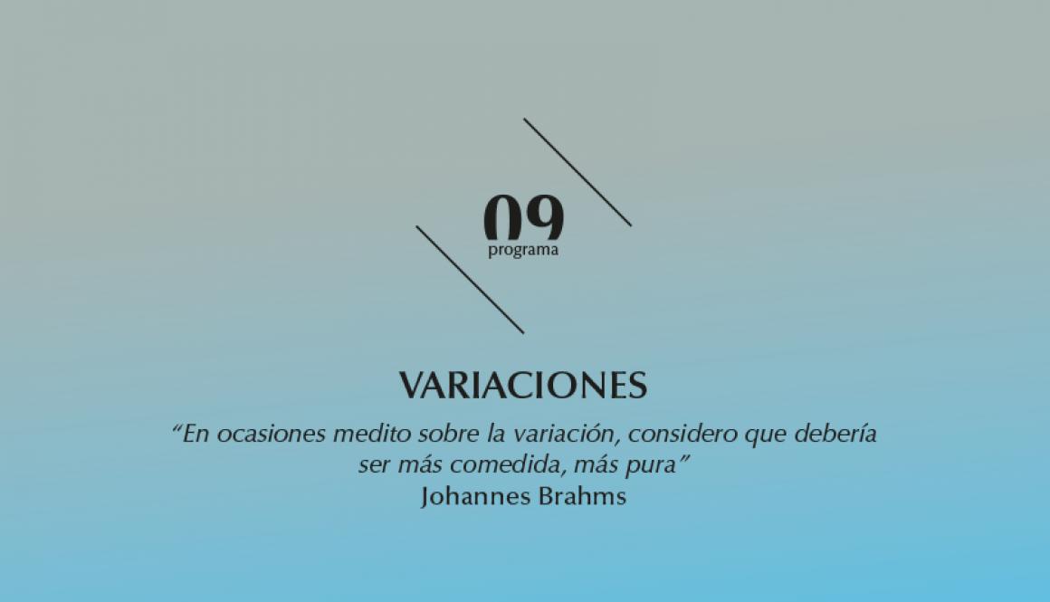 2015-2016 programa 9 Variaciones