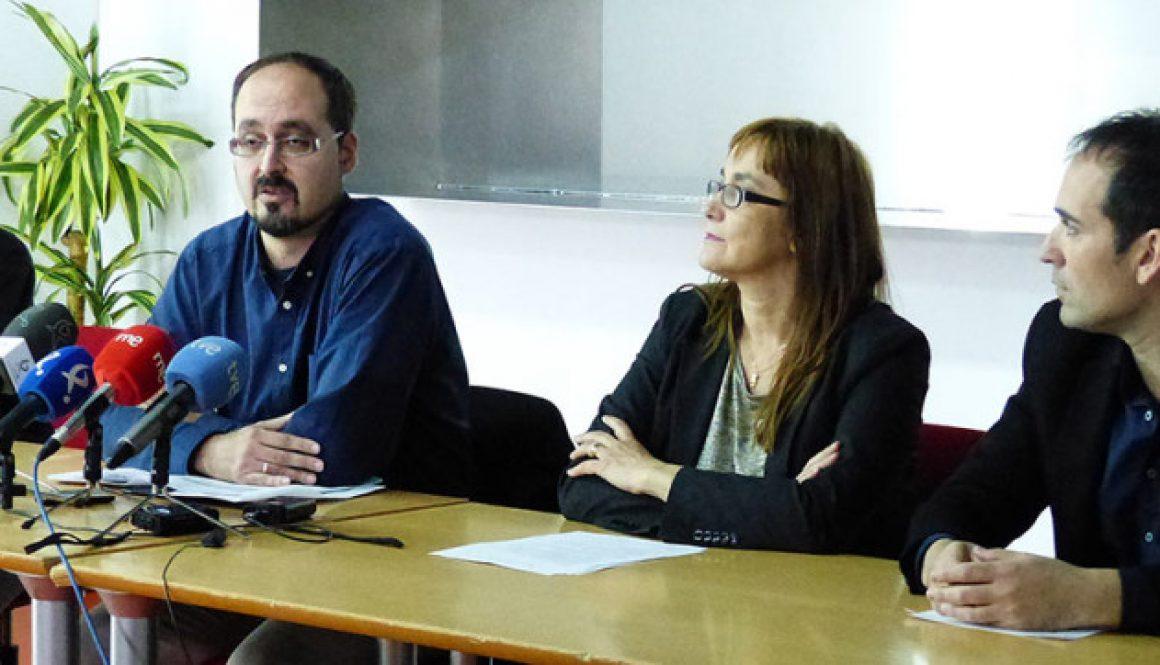 Víctor Monjo, subdirector de Tratamiento del Centro Penitenciario de Badajoz habla en rueda de prensa