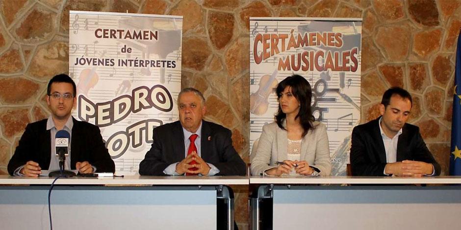 Colaboramos con el Certamen Internacional de Jóvenes Intérpretes Pedro Bote