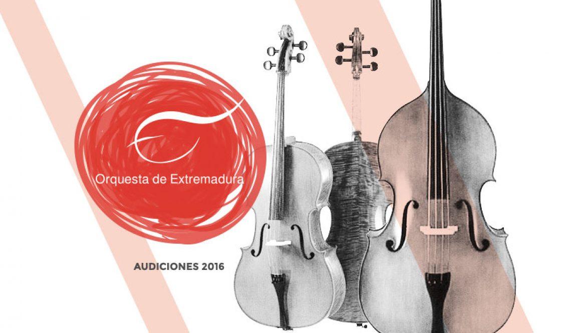 audiciones 2016 de trompa y violonchelo