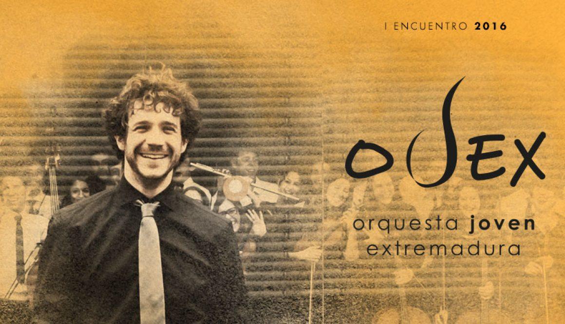 Andrés Salado dirige el I Encuentro OJEX 2016