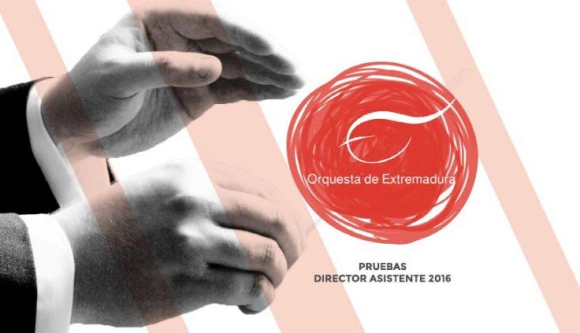 Pruebas de director asistente para la Orquesta de Extremadura