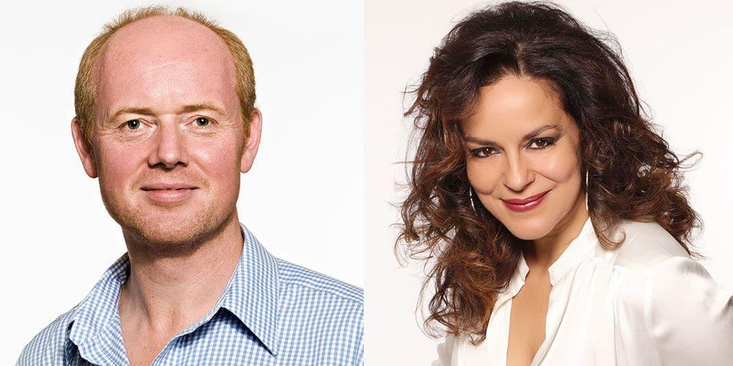 Sinfónico 12. Mark Le Brocq y Nancy Fabiola Herrera interpretan con la OEX La Canción de la Tierra