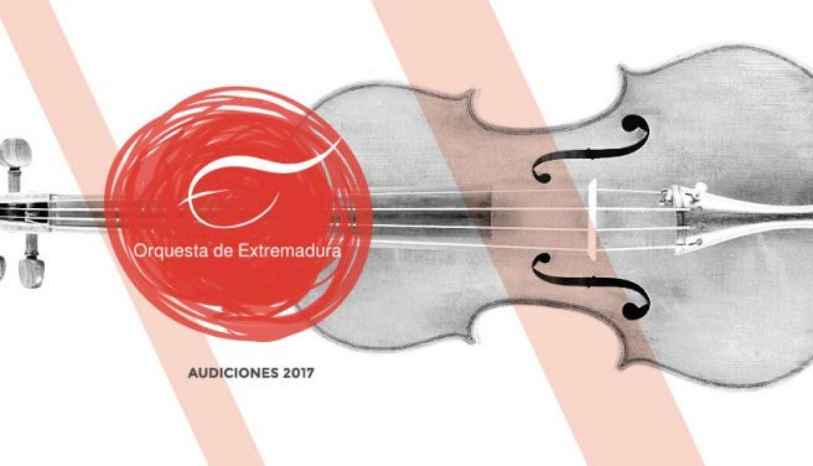 Audiciones 2017 para conformar una bolsa de trabajo para violines