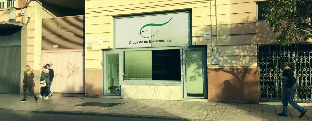 Nueva sede de la Orquesta de Extremadura