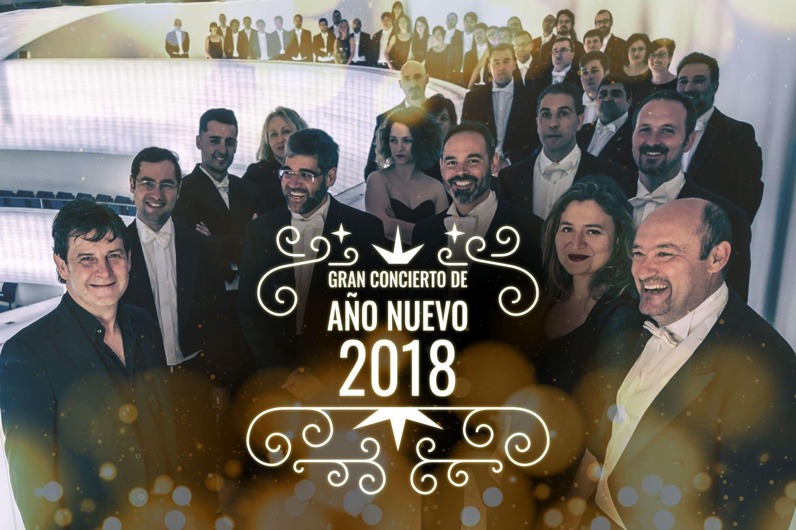 Concierto de Año Nuevo 2018, en Cáceres por primera vez