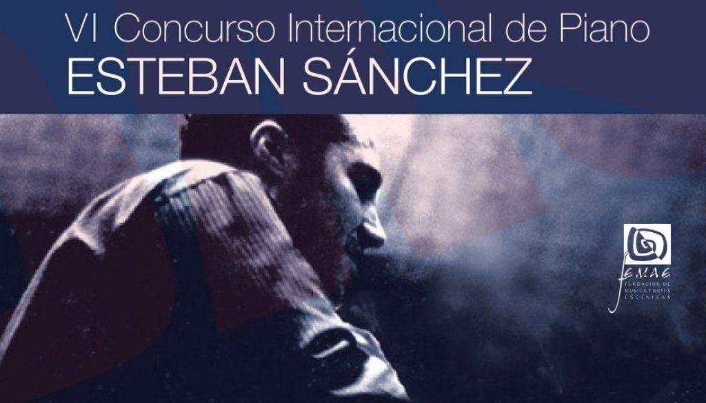 VI Concurso Internacional de Piano «Esteban Sánchez»