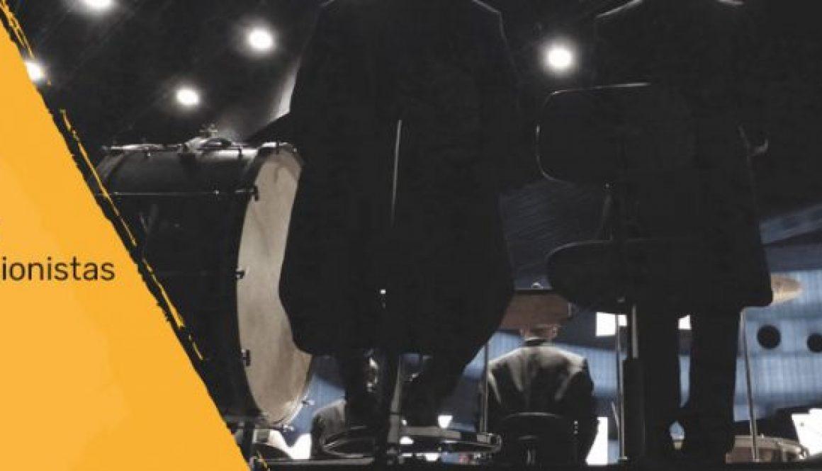 Bolsa de trabajo para percusionistas