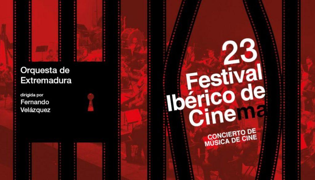 Fernando Velázquez dirige a la OEX en el 23º Festival Ibérico de Cine