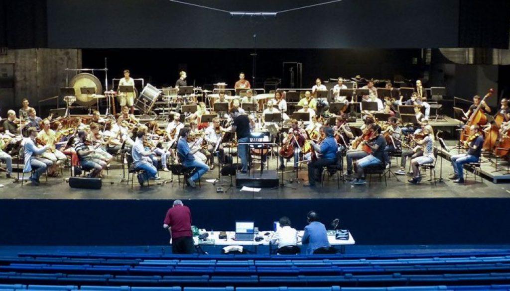 La OEX graba a José Zárate para Sony Classical. Septiembre de 2006.