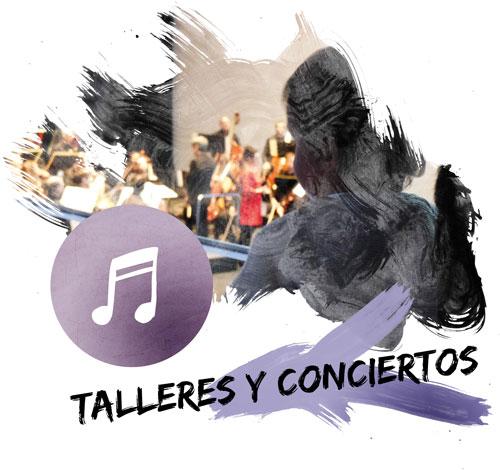 Talleres y conciertos de Afinando