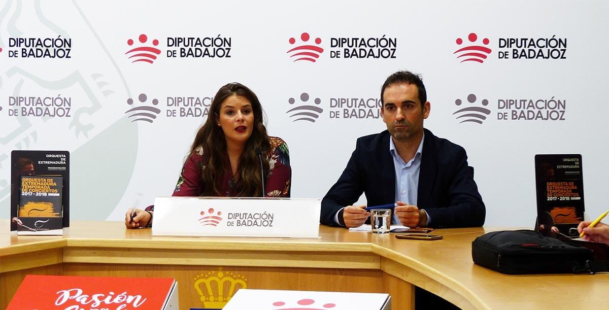 La Diputación de Badajoz difundirá la actividad de la OEX