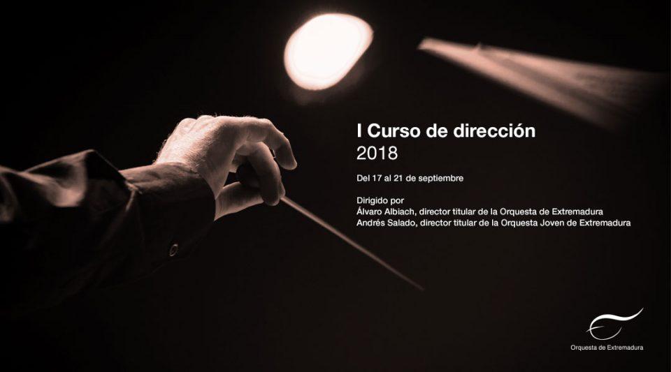 La Orquesta de Extremadura completa su I Curso de Dirección