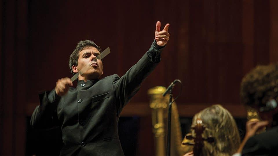 Nuno Coelho debuta con la OEX, dirigiendo a Francisco Fullana