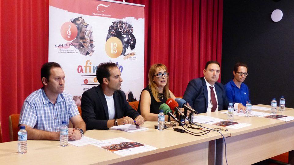 Músicos de la OEX impartirán talleres musicales en el IES San José