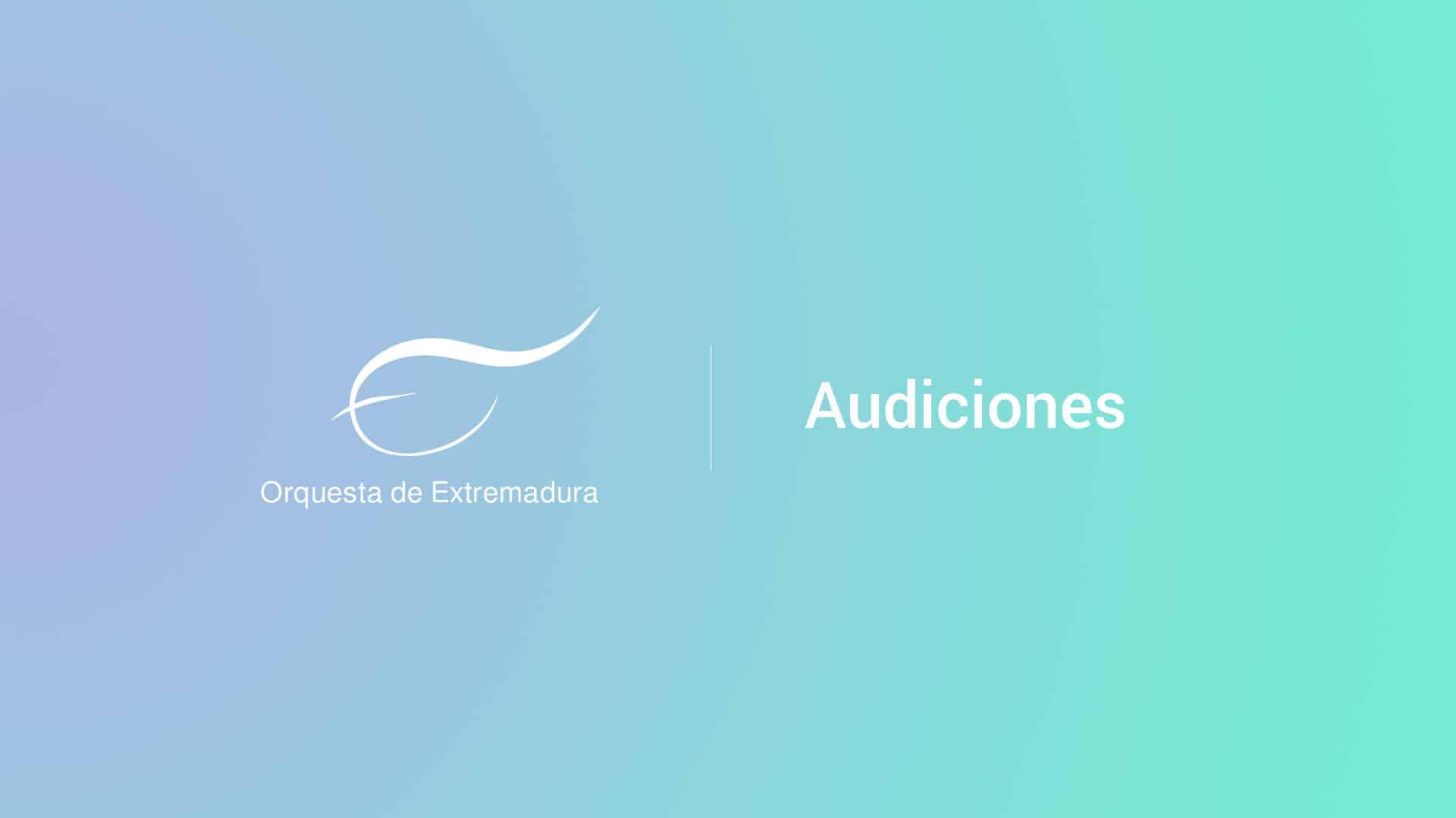 Pruebas de director asistente para la OEX 2018-2020