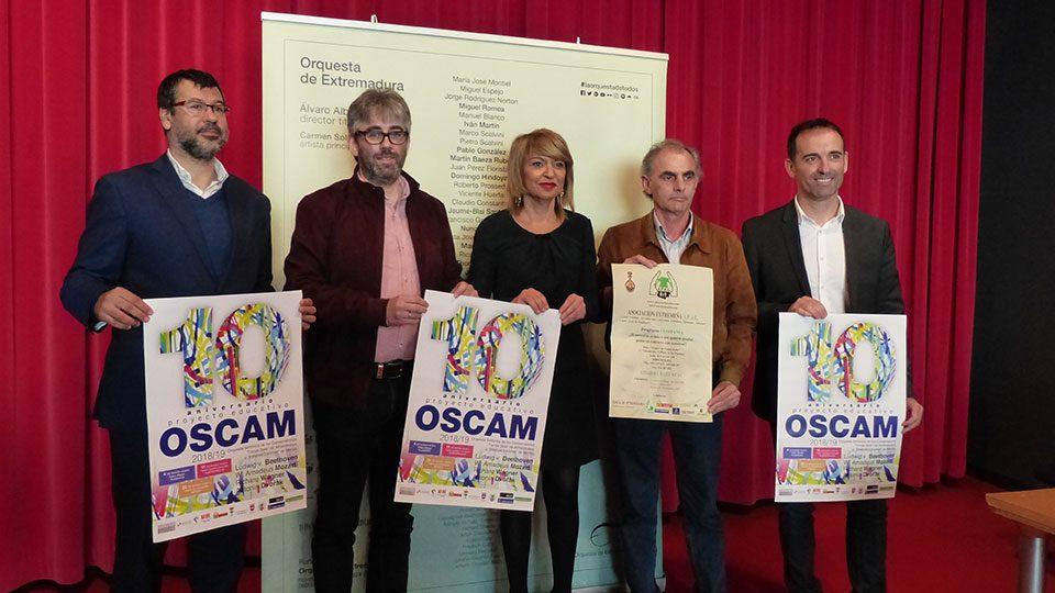 La OEX actuará con 15 alumnos de la OSCAM
