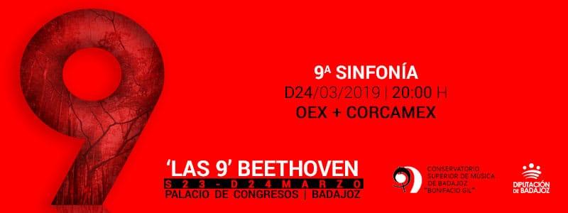 La OEX interpreta la Novena en 'Las 9' de Beethoven