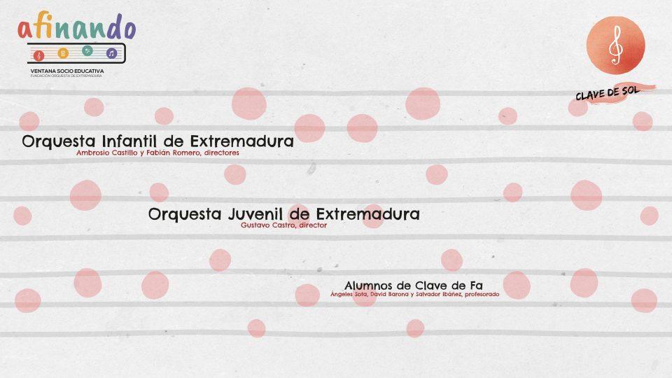 Las orquestas Infantil y Juvenil de Extremadura actúan en Cáceres y Badajoz