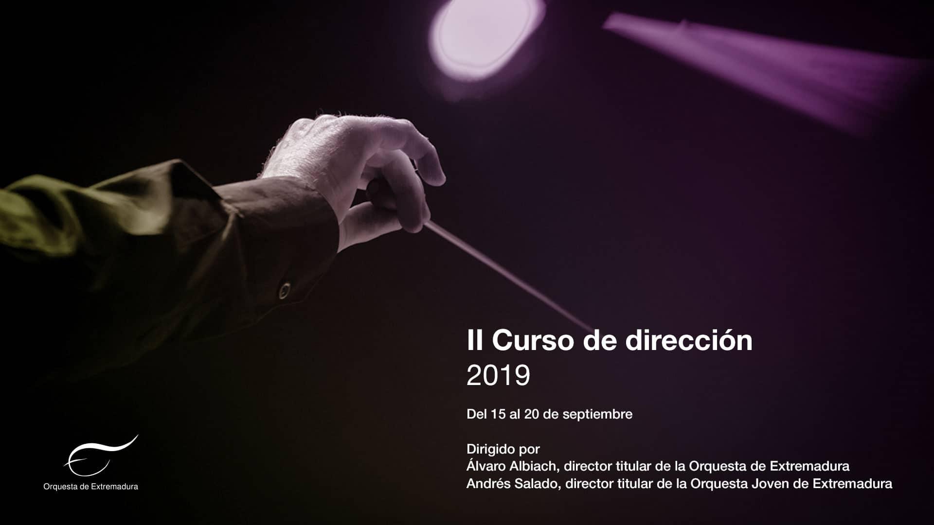II Curso de Dirección de la Orquesta de Extremadura