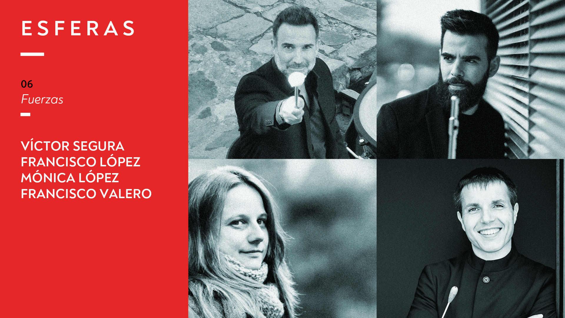 Programa 06. Víctor Segura, Francisco López, Mónica López y Francisco Valero