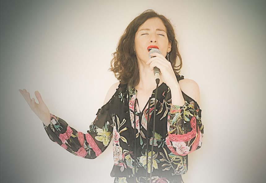 «De tacones y vielas», con Mili Vizcaíno, en Grabando con artistas