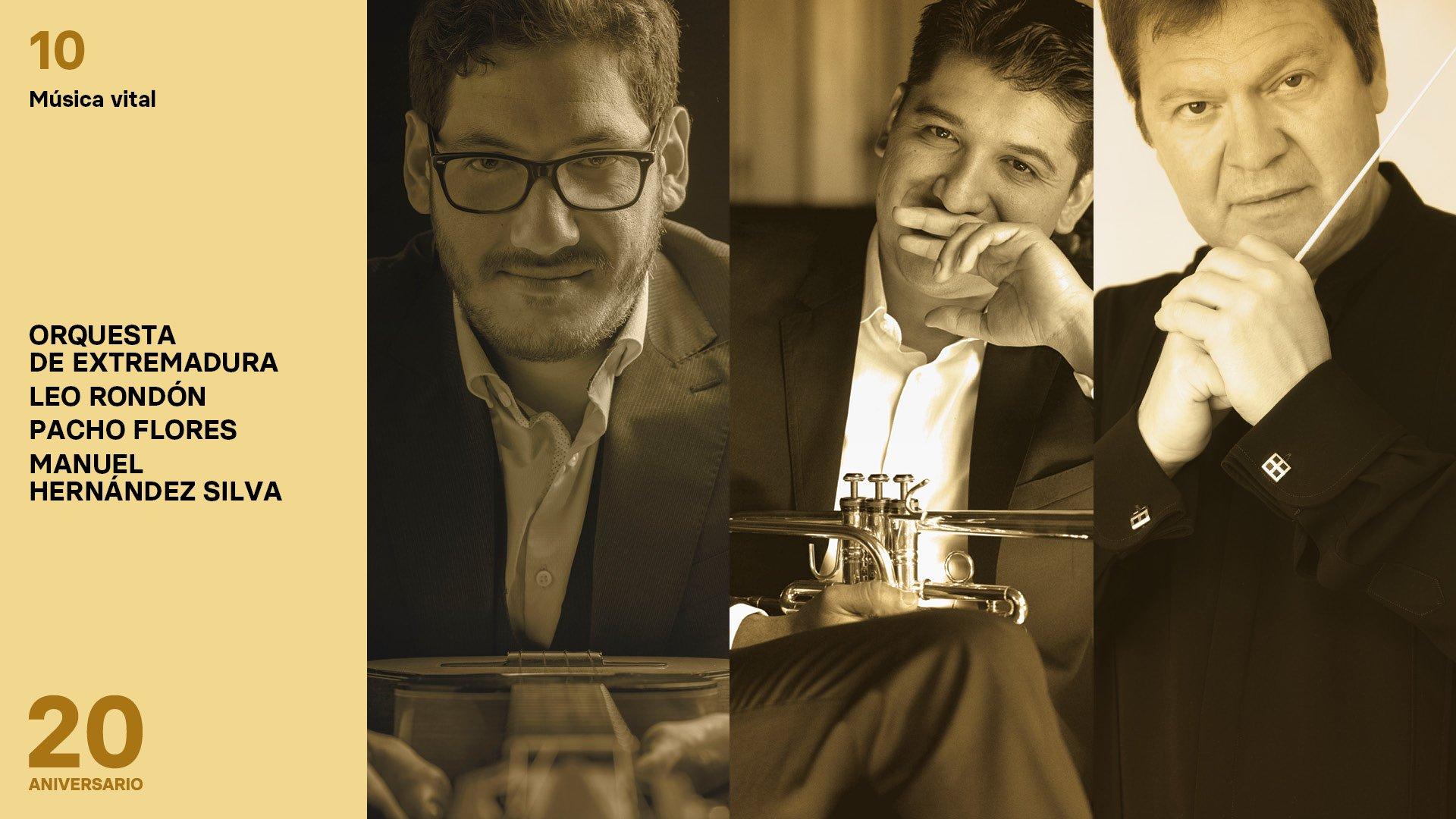 Programa 10. Leo Rondón, Pacho Flores y Manuel Hernández Silva
