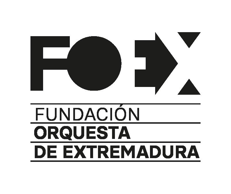 Logosímbolo de la Fundación Orquesta de Extremadura