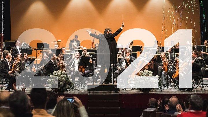 Concierto de Año Nuevo 2021. © foto Nicolás Lavado | 48horasMagazine