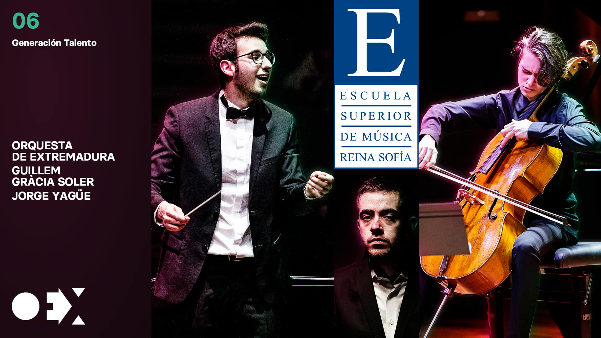 Generación Talento 2021. Con Pablo Domínguez, Guillem Gracia y Jorge Yagüe