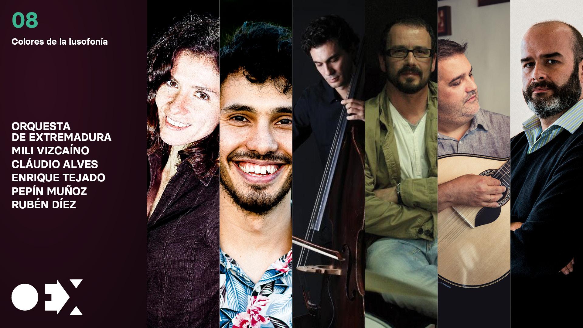 Colores de la lusofonía, con la Orquesta de Extremadura