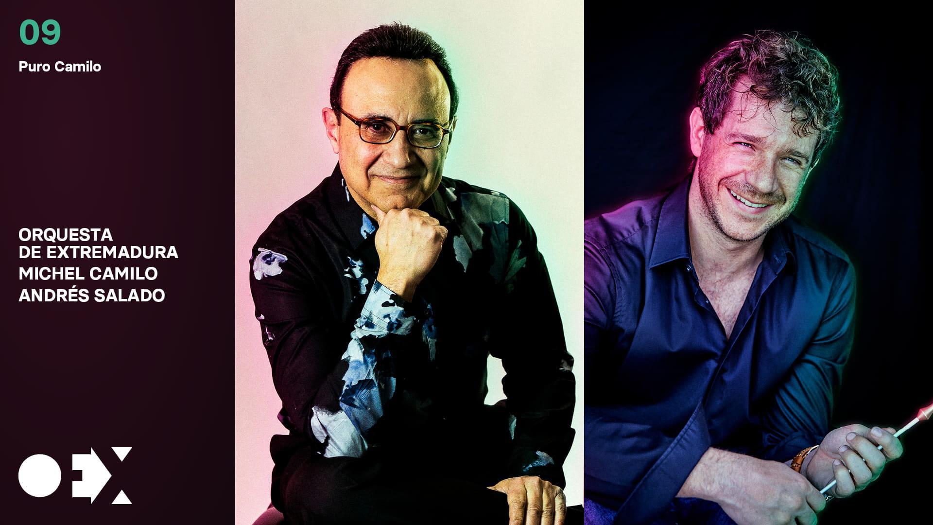 Andrés Salado con Michel Camilo en estado puro