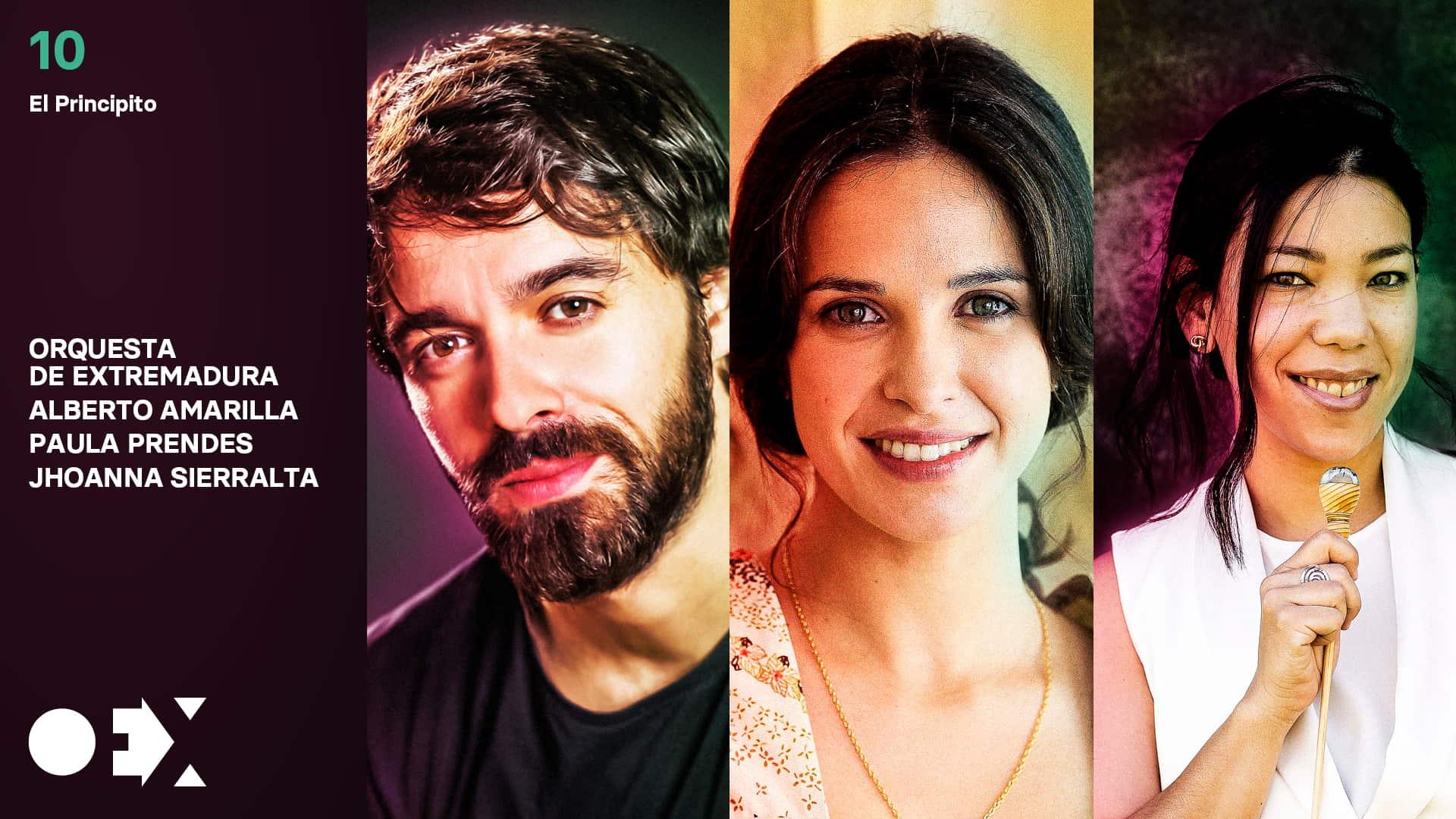 El Principito. Con Alberto Amarilla, Paula Prendes y Jhoanna Sierralta