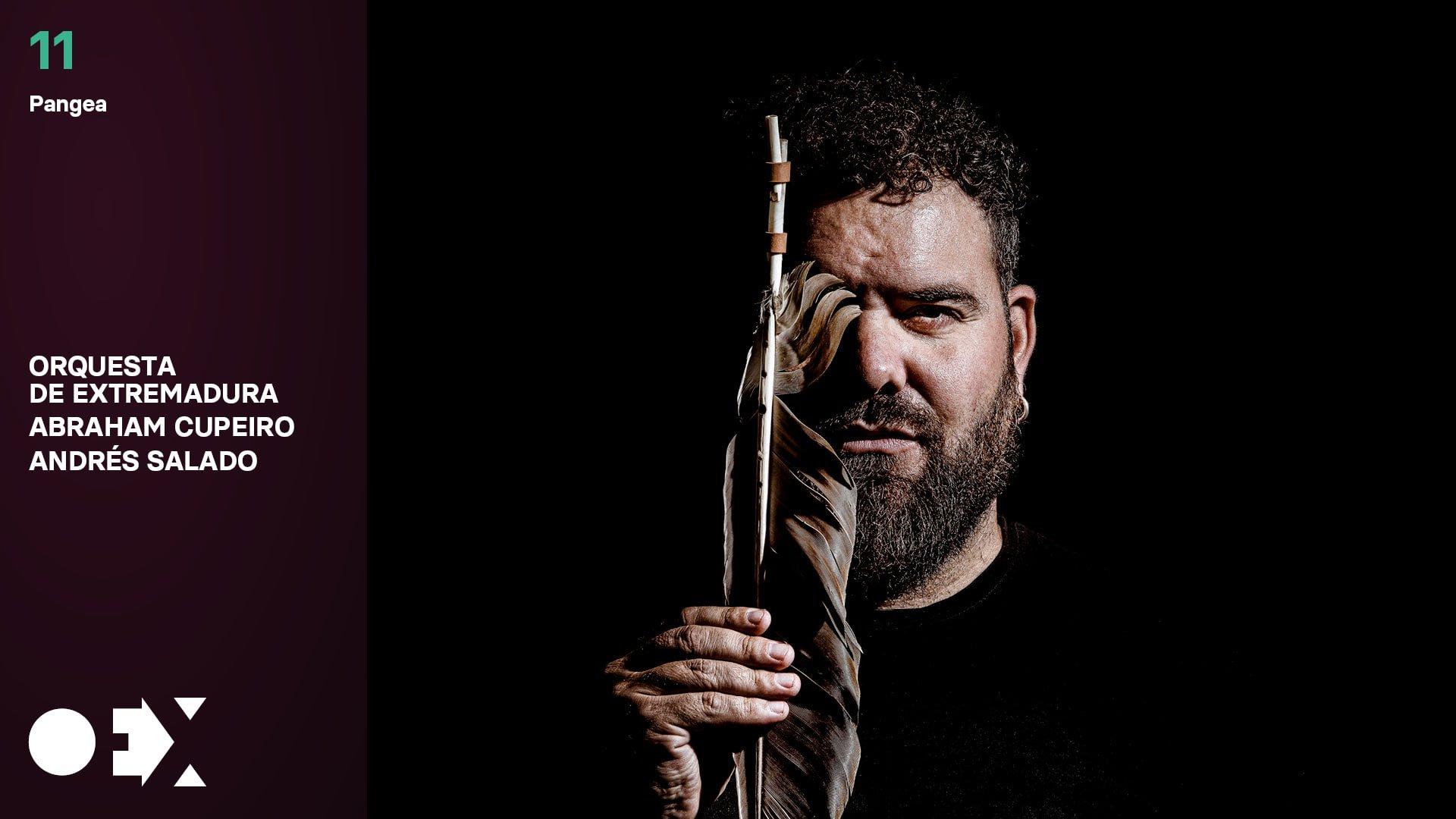 Pangea, de Abraham Cupeiro, con la Orquesta de Extremadura
