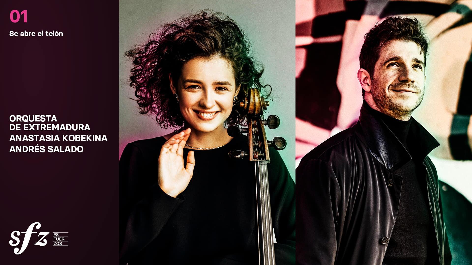 Programa 01. Anastasia Kobekina y Andrés Salado
