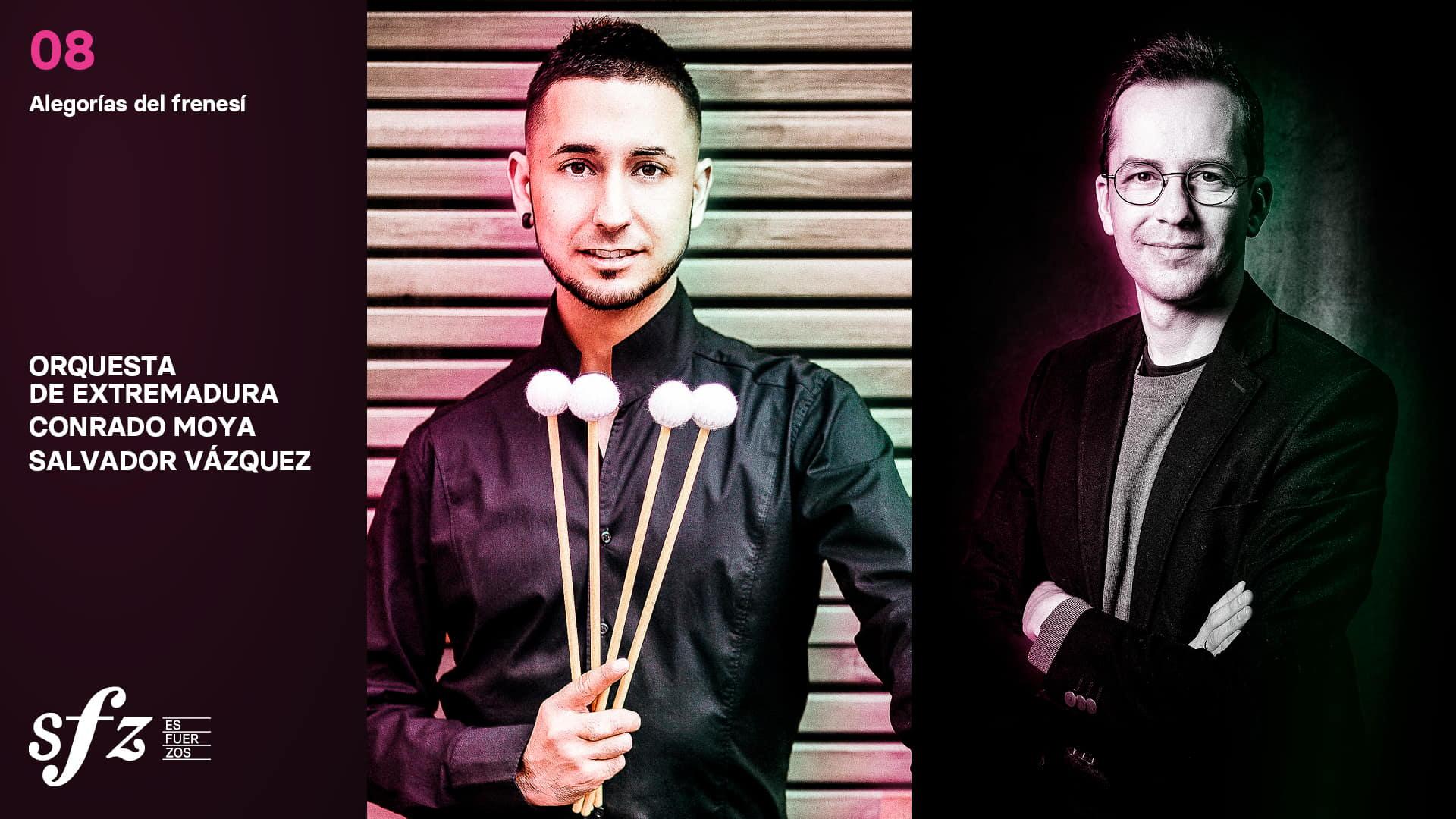 Programa 08. Conrado Moya y Salvador Vázquez