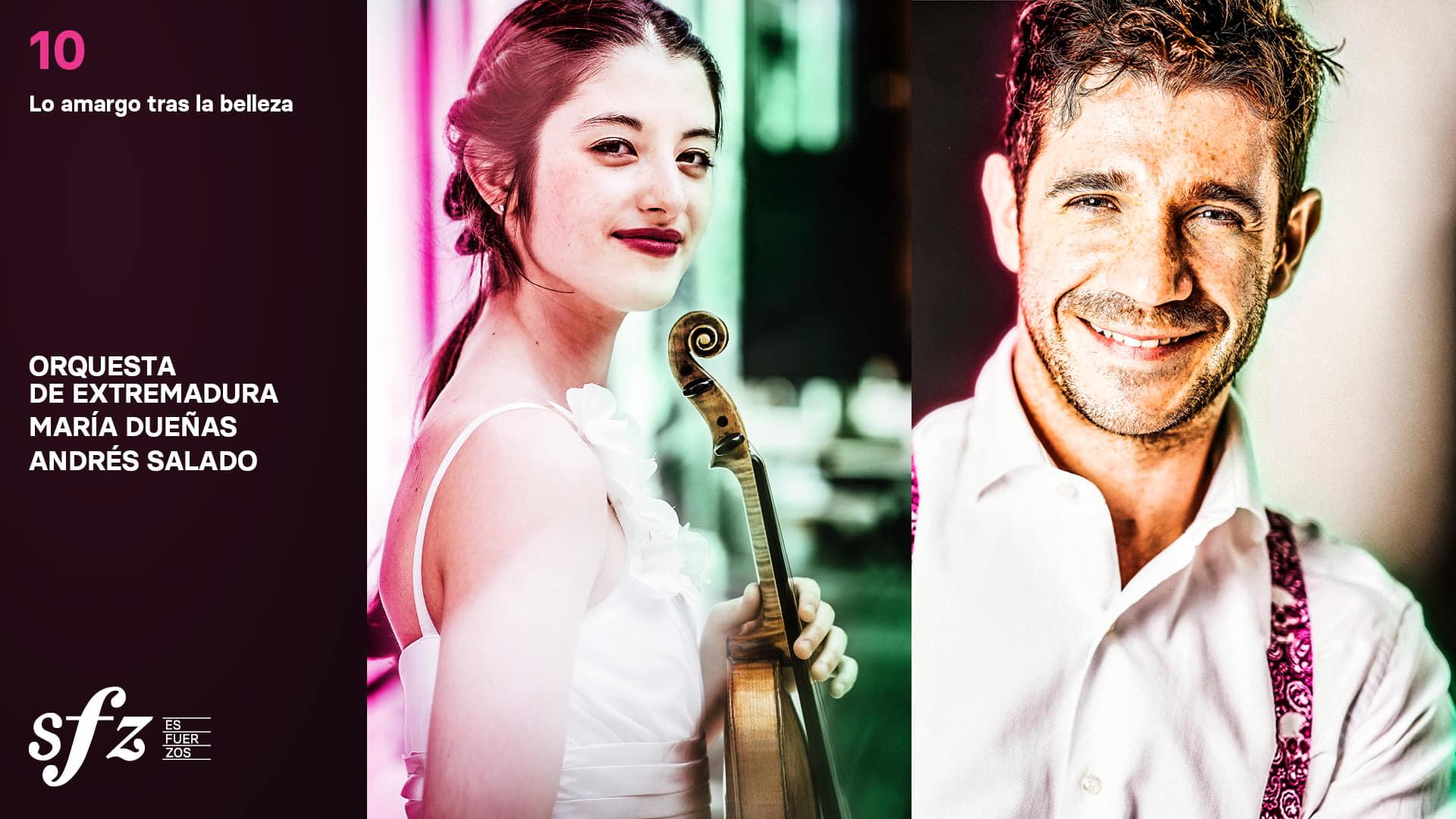 Programa 10. María Dueñas y Andrés Salado